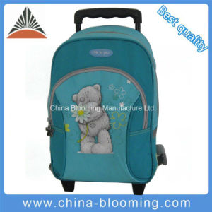 Kids School Student Backpack Trolley Wheeled Luggage Bag pictures & photos