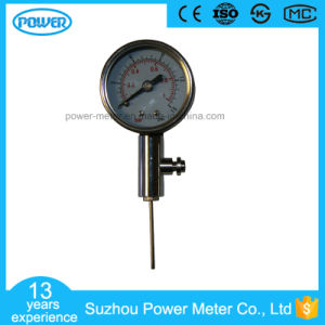 40mm Ball Pressure Gauge pictures & photos
