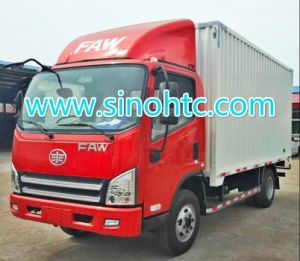 Trending Now! FAW 3-5 Tons CE Standard Van Vehicle pictures & photos