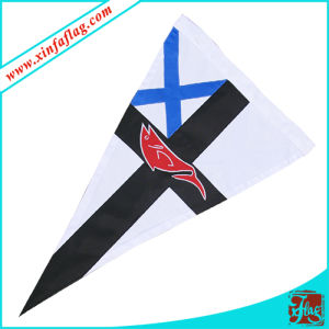 Custom Triangle Flag Banner/Triangle Pennant Banner pictures & photos