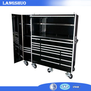 Iron Mobile Drawer Tool Cart/Cabinet with Wheel/ Professional Metal Tool Trolley pictures & photos
