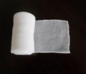 Bleached Cotton Crepe Elastic Bandage/ Spandex Crepe Elastic Bandage pictures & photos