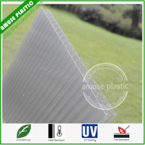 Grey High Quality Unbreakable Cellular Roof Board Polycarbonate Honeycomb Sheet pictures & photos