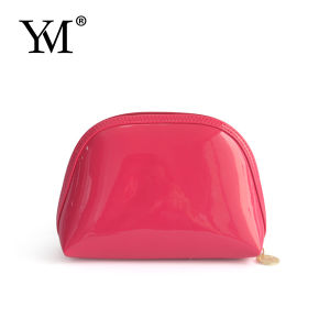 Fashion Ladies Promotional Shinny PVC Cosmetic Bag pictures & photos