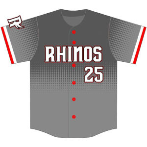 Customized Design Baseball Top Jersey for Team pictures & photos