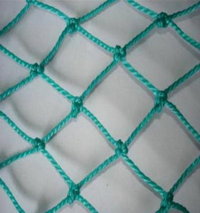 Green PP/PE Knotted Netting Sports Safety Nets pictures & photos