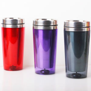 Stainless Steel Double Walls Construction Travel Mug pictures & photos