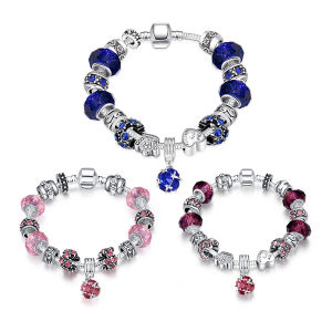 925 Silver European Beads Charms Fashion Bracelet for Women pictures & photos