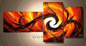 Hand Painted Modern Abstract Canvas Oil Painting (XD3-011) pictures & photos