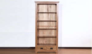 American Style Oak Wood Bookshelf with Good Quality (M-X1072) pictures & photos