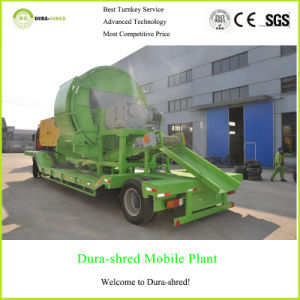Dura-Shred Double Shaft Shredded Tyre Machine Used for Fuel (TSD1332) pictures & photos
