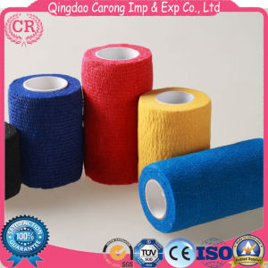 Good Stickness Non-Woven Elastic Cohesive Bandage pictures & photos