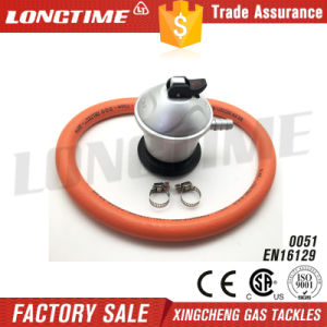 Jumbo LPG Gas Pressure Regulator with Hose Assembly