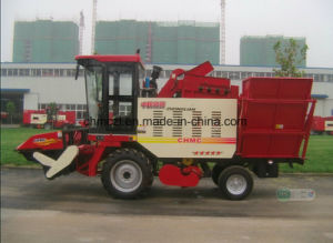 Wheel Type Low Loss Rate Maize Harvesting Machine pictures & photos