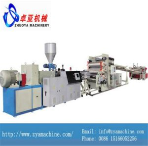 Three-Roller PVC Free Foamed Board Plastic Extruder Machine pictures & photos
