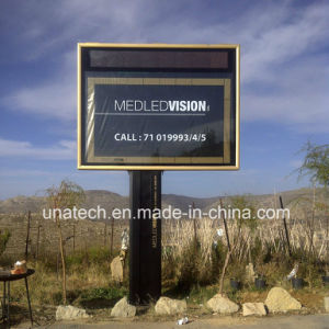 Outdoor Highway Street Road Advertising Scrolling Light Box Revolving LED Billboard pictures & photos
