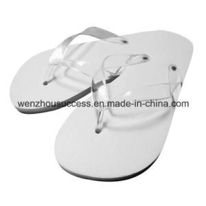 Custom Printed Rubber Wholesale Flip Flops pictures & photos