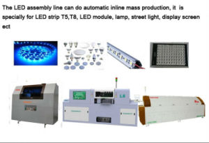 LED Assembly Line Stencil Printer & Placement Machine & Reflow Soldering Machine pictures & photos