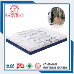Vacuum Compressed Gel Memory Foam Mattress with Portable Handle Box pictures & photos