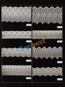 Different Designs Beautiful Cotton Embroidery Lace for Underwear pictures & photos