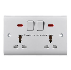 Bs6 Series Bs6-21 Wall Switch with Different Color and Design pictures & photos