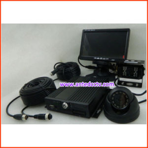 H. 264 SD Card 4 Channel Mobile Car DVR for School Bus Taxi Car pictures & photos