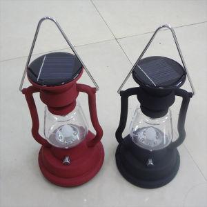 Solar Retro Camping Lantern Lamp with Kerosene Lamp Design pictures & photos