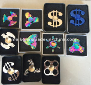 Hot Sale High Quality Rainbow Color Alloy Metal Hand Finger Spinners pictures & photos