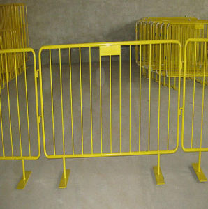 Removable Steel Crowd Control Road Barrier for Events/Metal Barricade pictures & photos