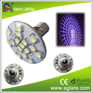 Amusement LED E10 IP44 60V 1.2W 1210 SMD LED