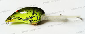 Top Grade Fishing Tackle--Lifelike Craw Shape Diving Crank Baits Fishing Lure (HW013) pictures & photos