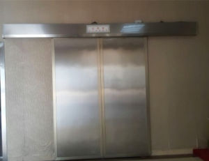 Medical X-ray Protection Electric Door, Double Open The Door pictures & photos