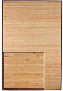 Bamboo Area Rugs/Mats Light Natural Color Red Color Black Color pictures & photos