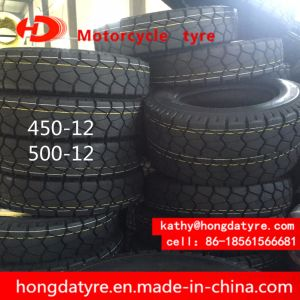 ISO9001 Factory Supplier ECE Certificate Low Price Chinese Motorcycle Tyre 450-12 500-12 pictures & photos