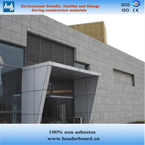 China Fiber Cement Board Exterior Interior Wall Panel China Fiber Cement Board Decorative Board