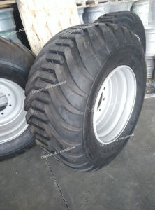 Agricultural Flotation Tire 600/50-22.5 with Wheel Rim 22.5X20.00 pictures & photos