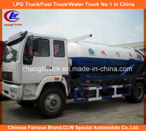 6 Wheel 8cbm-10cbm Sinotruk HOWO Sludge Suction Truck pictures & photos
