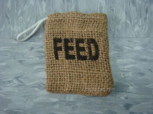 Drawstring Jute Pouch Bag (JDB-1) pictures & photos