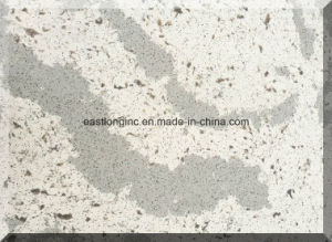 Natural Marble White Artificial Quartz Stone for Vanity Top pictures & photos