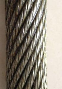 Galvanized Steel Wire Rope, Crane Wire Rope Specification pictures & photos