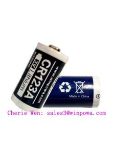 3V Cr123A Primary Lithium Battery