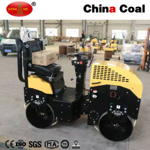 Constrcution Equipment Two Wheels Mini Road Roller pictures & photos