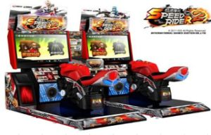Racing Game Speed Rider II Motor for Amusement Machine pictures & photos