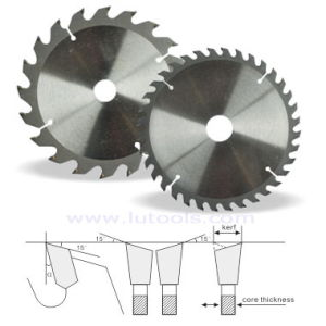 T. C. T Saw Blades for Cutting Normal & Standard Wood Series (BS-001) pictures & photos