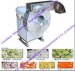 Vegetable Potato Carrot Washing Peeling Slicer Cutter Processing Machine pictures & photos
