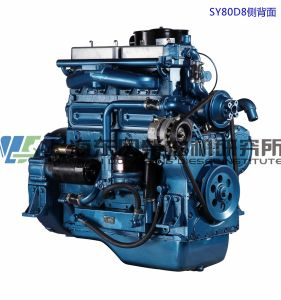 6 Cylinder/97kw, 4-Stroke/ Shanghai Dongfeng Diesel Engine for Generator Set pictures & photos