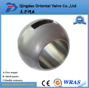 Low Price 1/2 304 Stainless Steel Balls, Worm Gear Ball Valve pictures & photos