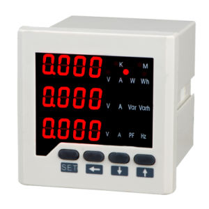 Multifunction Digital Panel Meter (3 Phase) LED Display pictures & photos