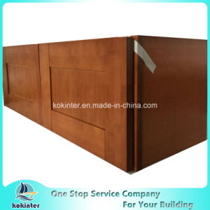 American Style Kitchen Cabinet Bamboo Shaker W3612 pictures & photos