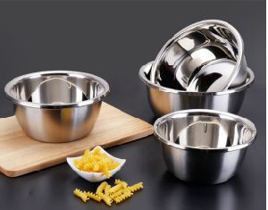 Stainless Steel Food Mixing Thicken Basin (JH-003)
